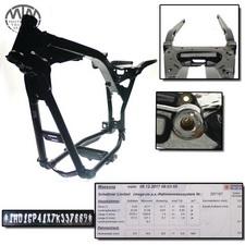 Rahmen, US Title, U-Bescheinigung & Messprotokoll Harley Davidson FXDWG 1584 DWG