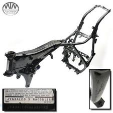 Rahmen, US Title, U-Bescheinigung & Messprotokoll Yamaha XV750 Virago (4FY)