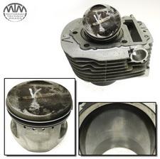 Zylinder & Kolben vorne Yamaha XV750 Virago (4FY)