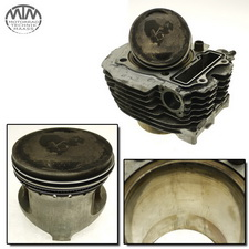 Zylinder & Kolben vorne Yamaha XV1000 TR1 (5A8)