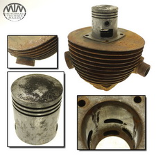 Zylinder & Kolben UT KTV 200 / ILO M200