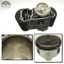 Zylinder & Kolben hinten Honda VT750C2 Shadow (RC44)