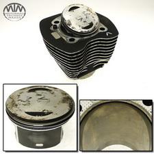 Zylinder & Kolben vorne Harley Davidson FXDB 1584 Dyna Street Bob