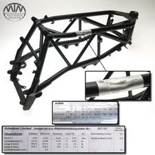 Rahmen, US Title, U-Bescheinigung & Messprotokoll KTM 990 Super Duke