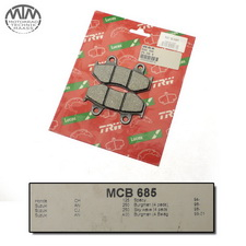 Lucas Bremsbeläge MCB 685