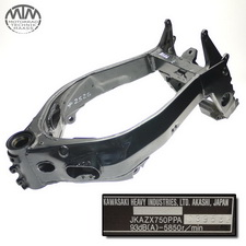 Rahmen, Fahrzeugbrief, Schein & Messprotokoll Kawasaki ZX-7R Ninja (ZX750P)