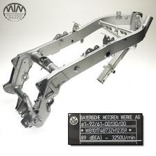 Rahmen, Fahrzeugbrief, Schein & Messprotokoll BMW F650CS Scarver (K14)