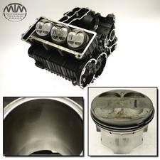 Motorgehäuse, Zylinder & Kolben Triumph Trident 900