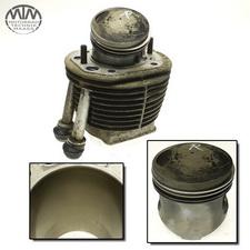 Zylinder & Kolben rechts BMW R80GS (247E)