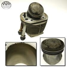 Zylinder & Kolben links BMW R80GS (247E)