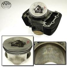 Zylinder & Kolben vorne Kawasaki VN1600 B Mean Streak