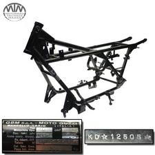 Rahmen, Fahrzeugbrief, Schein & Messprotokoll Moto Guzzi California 1100i (KD)