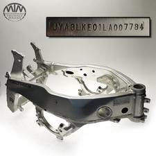 Rahmen, Fahrzeugbrief & Vermessungsprotokoll Yamaha FZR1000 Exup (3LE)