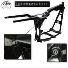 Rahmen, US Title, U-Bescheinigung & Protokoll HD FXDL 1450 Dyna Low Rider 100th
