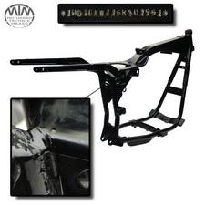 Rahmen, US Title, U-Bescheinigung & Messprotokoll HD FXDLI 1450 Dyna Low Rider