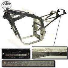 Rahmen, Fahrzeugbrief, Schein & Messprotokoll Suzuki GSX-R1100 (GU74C)