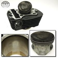 Zylinder & Kolben vorne Yamaha XVS650 Drag Star Classic