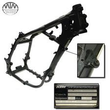 Rahmen, Fahrzeugbrief, Schein & Messprotokoll KTM 640 LC4 Adventure (4T-EGS)