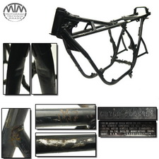 Rahmen, US Title & Vermessungsprotokoll Honda CB750 Four