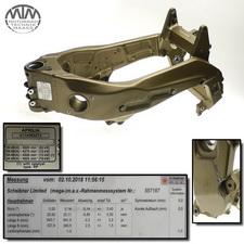 Rahmen, Fahrzeugbrief, Schein & Messprotokoll Aprilia RSV1000 Tuono (RP)