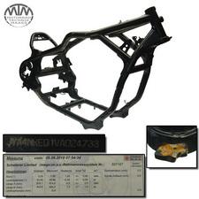 Rahmen, US Title, Vermessungsprotokoll Yamaha XVZ1300A Royal Star
