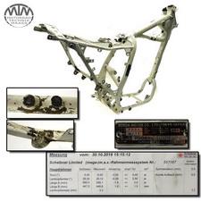 Rahmen, Fahrzeugbrief, Schein & Messprotokoll Honda XL600RM (PD04)