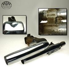 Auspuff Endtopf Yamaha XV750 Virago (4PW)
