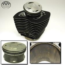 Zylinder & Kolben vorne Harley Davidson FLSTCI 1450 Heritage Softail Classic