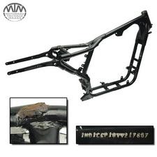 Rahmen, US Title, U-Bescheinigung & Messprotokoll Harley Davidson XL1200C Sportster