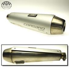 Auspuff Endtopf links Moto Morini Corsaro 1200