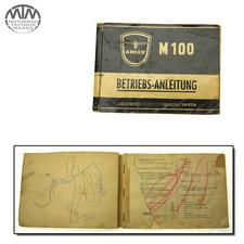 Betriebs-Anleitung Adler M100