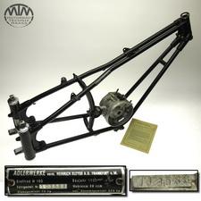 Rahmen mit Motorgehäuse Adler M100