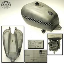 W. Reinschlüssel 20Liter Alu Tank, Benzintank Yamaha SR500 (48T)