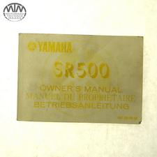 Bedienungsanleitung Yamaha SR500 (48T)