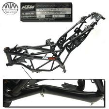 Rahmen, Fahrzeugbrief & Fahrzeugschein KTM 125 Duke
