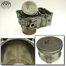 Zylinder & Kolben vorne Honda XRV750 Africa Twin (RD04)