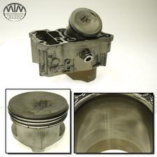 Zylinder & Kolben hinten Honda XRV750 Africa Twin (RD04)
