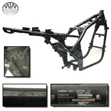 Rahmen, Fahrzeugbrief, Schein & Messprotokoll Kawasaki Zephyr 1100