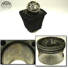 Zylinder & Kolben vorne Harley Davidson FLHR 1340 Road King