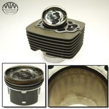 Zylinder & Kolben links Moto Guzzi V7 750 2 ie Stone