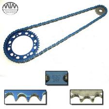 Kettensatz Blau Kawasaki ZZR1100 (ZXT10D)