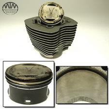 Zylinder & Kolben vorne Harley Davidson FXST-I 1450