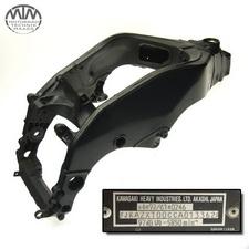 Rahmen, Fahrzeugbrief & Messprotokoll Kawasaki ZX-10R Ninja (ZXT00C)