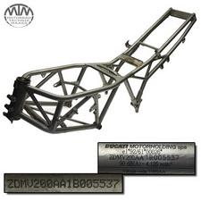 Rahmen, Fahrzeugbrief, Schein & Messungsprotokoll Ducati 750SS ie (V2)