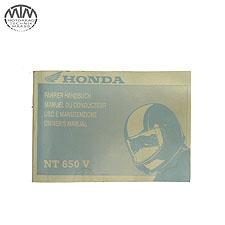 Fahrer Handbuch Honda NT650V Deauville (RC47)