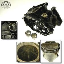 Motorgehäuse, Zylinder & Kolben Honda VTR250 (MC15)