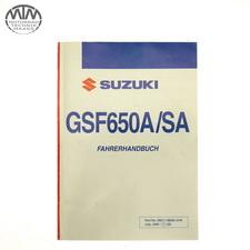 Fahrer Handbuch Suzuki GSF650A Bandit ABS (WVB5)