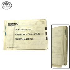 Fahrer Handbuch Honda CBR1000F Dual CBS (SC24)