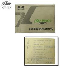 Bedienungsanleitung Kawasaki Zephyr 750 (ZR750D)