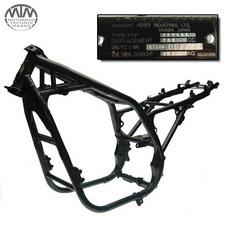 Rahmen, Fahrzeugpapiere & Messprotokoll Kawasaki Zephyr 750 (ZR750D)